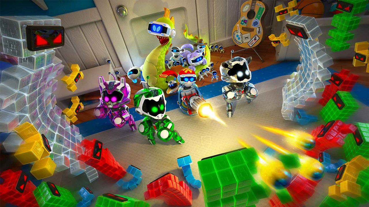 The Playroom Vr Updated Today With Free Toy Wars Game