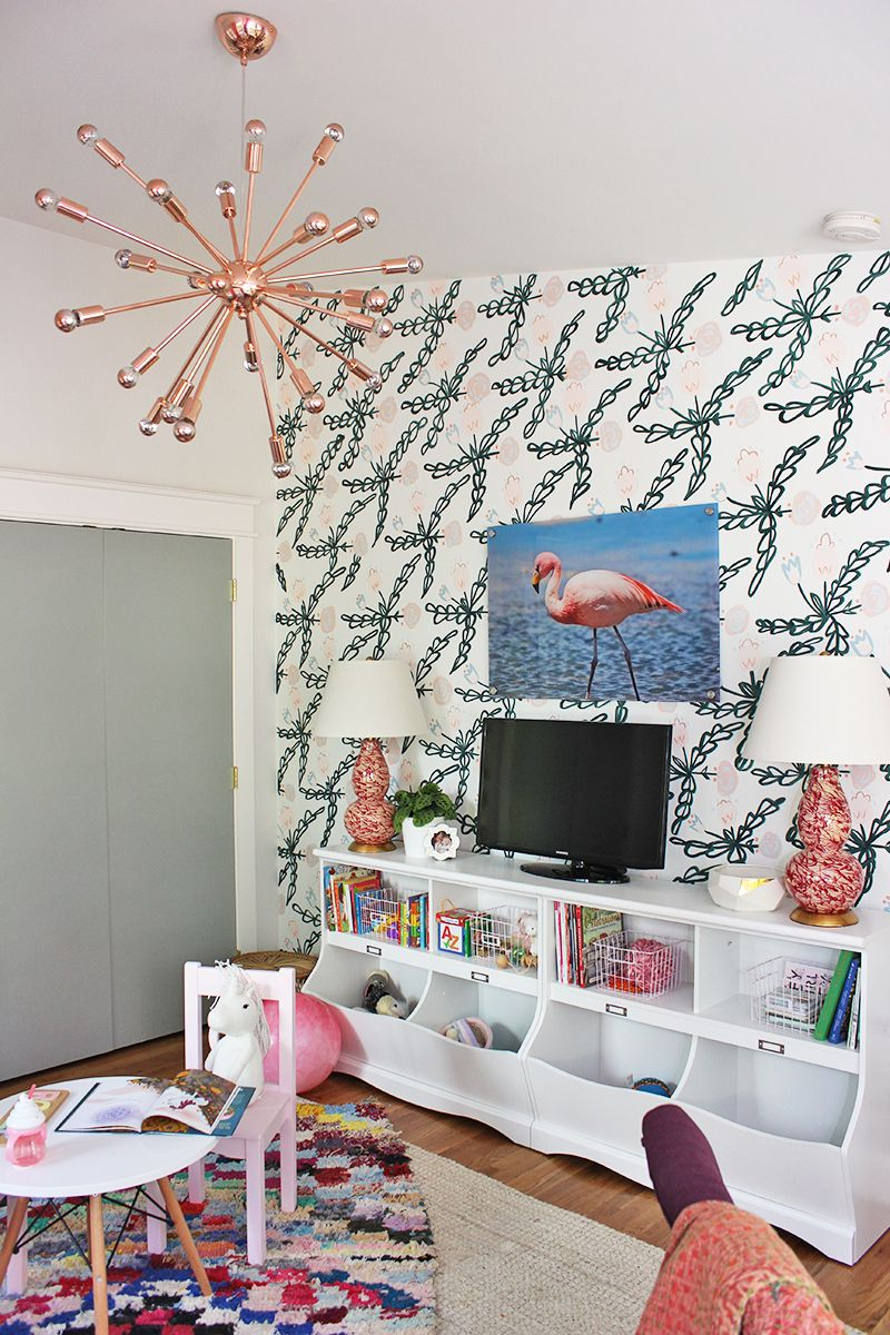 Colorful & Creative Office Playroom | Inspiring Home Decor