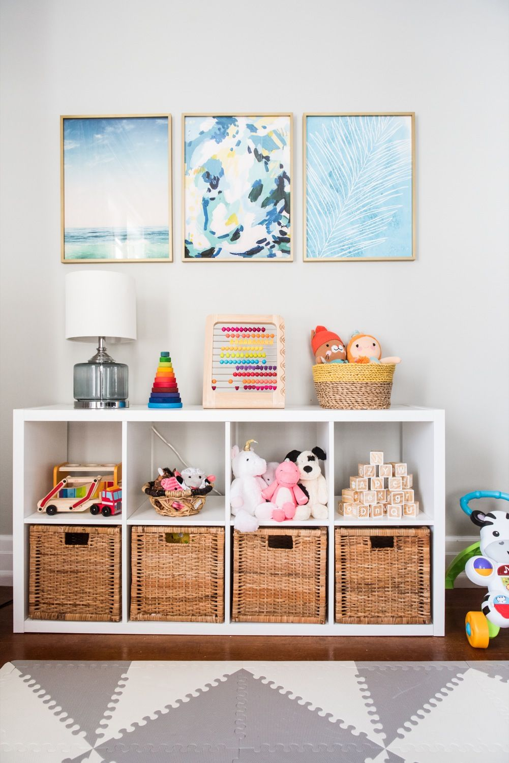 Emerson's Modern Playroom Tour | At Home: Kid's Rooms