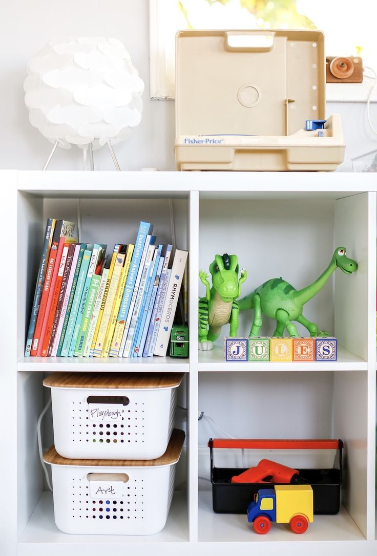 Childrens Playroom Organizing Tips // Toy Organization And