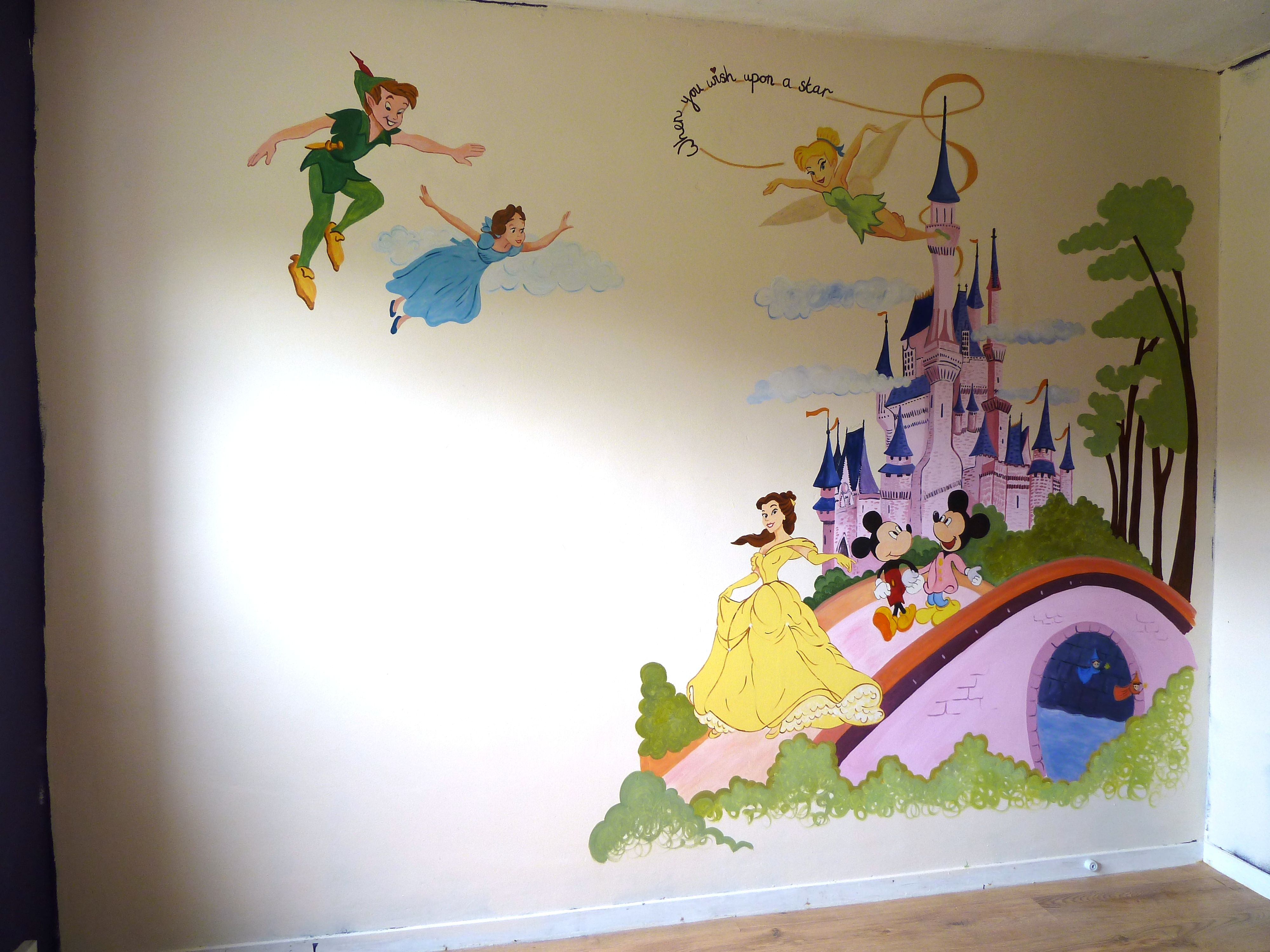 Disney Playroom | Projects To Try | Disney Wall Murals