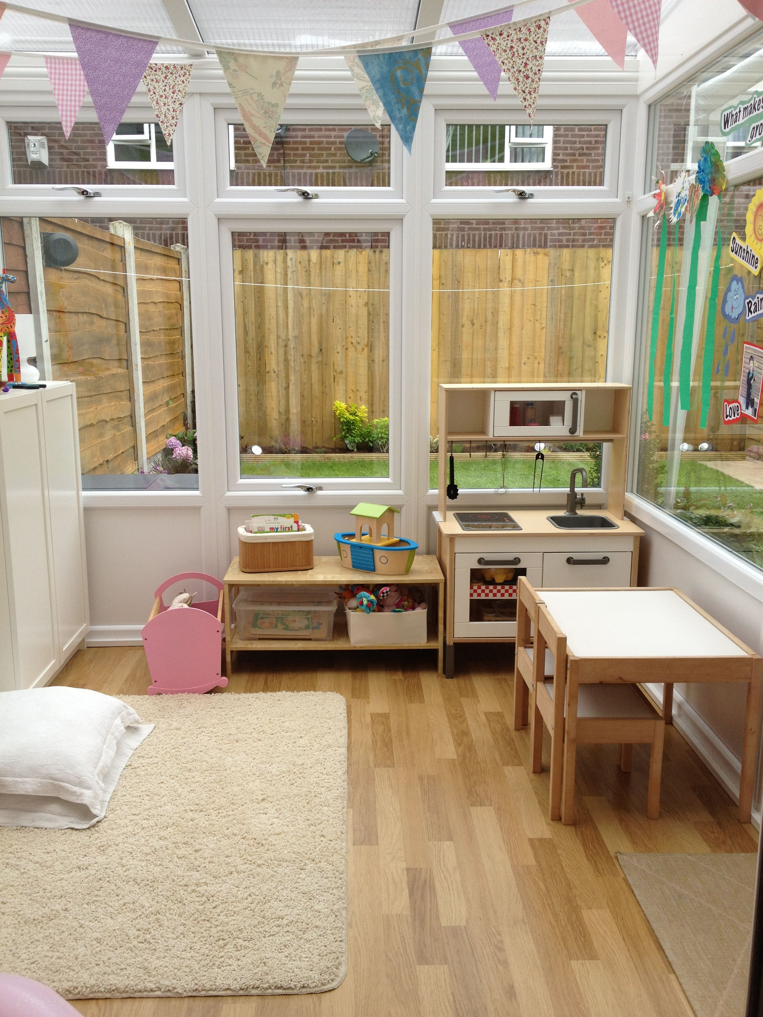 Conservatory Converted Into A Playroom | Playroom