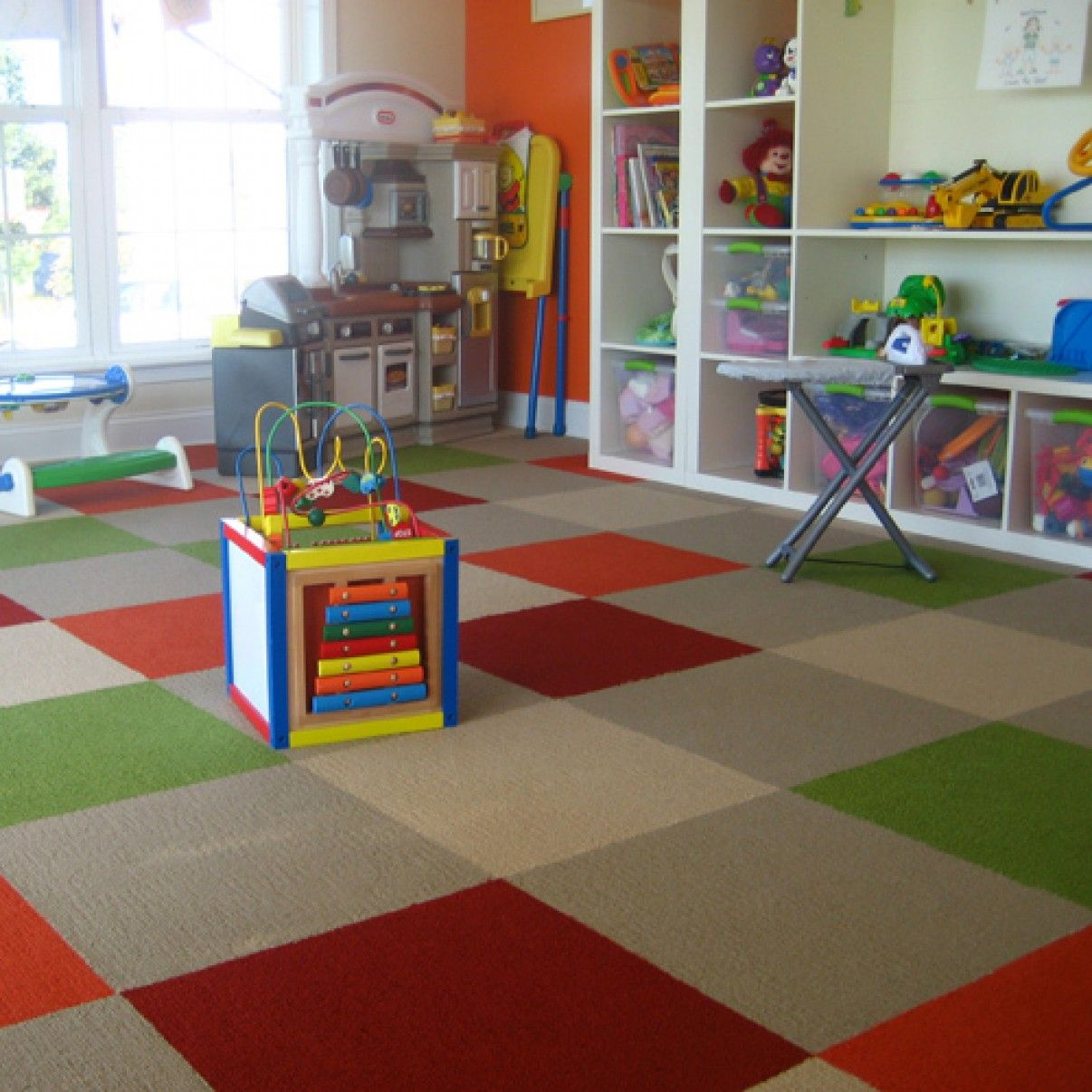 Definitely Getting Carpet Tiles For The New Playroom