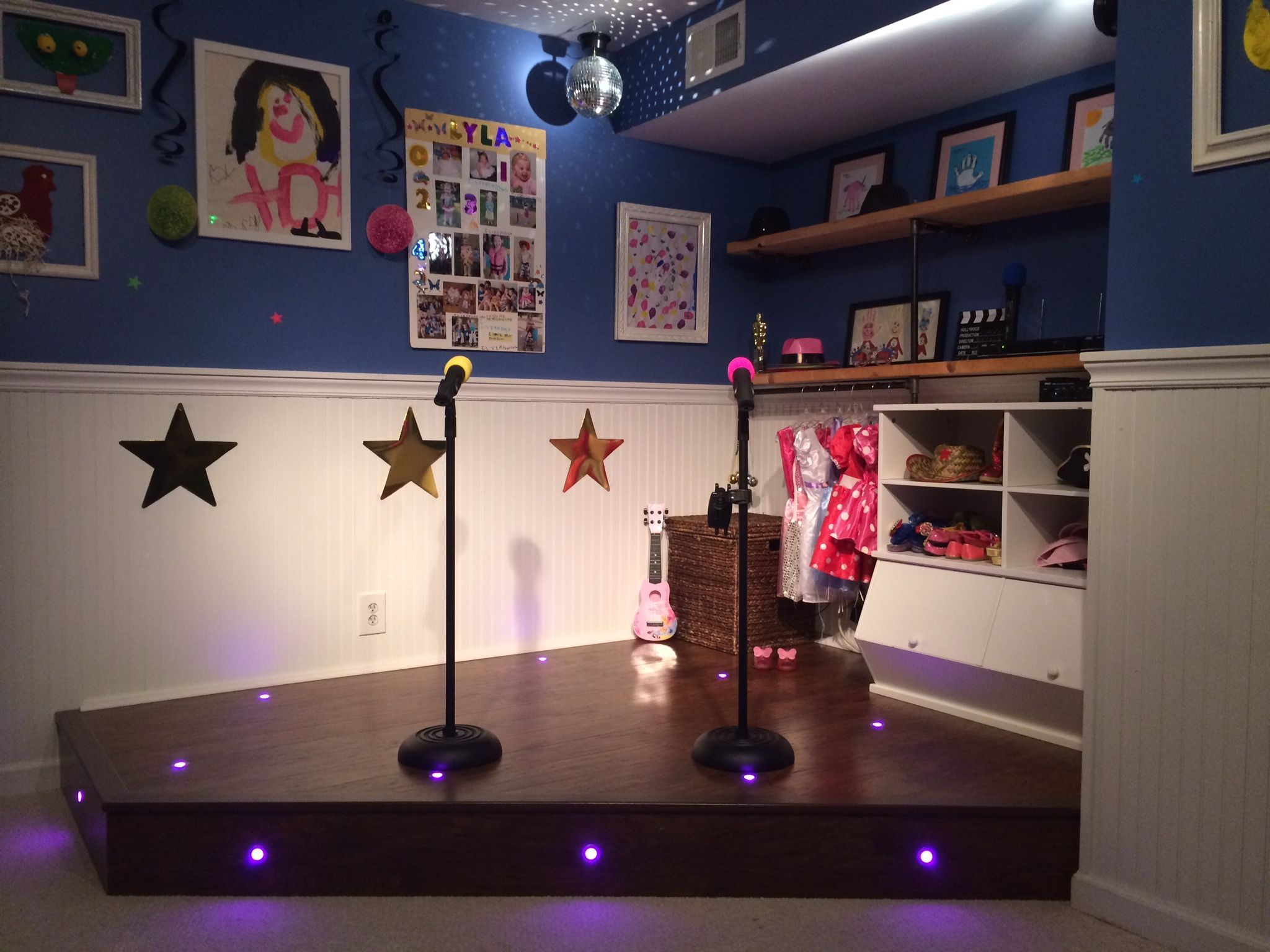 Playroom Stage! | Do It Yourself Home Projects From Ana
