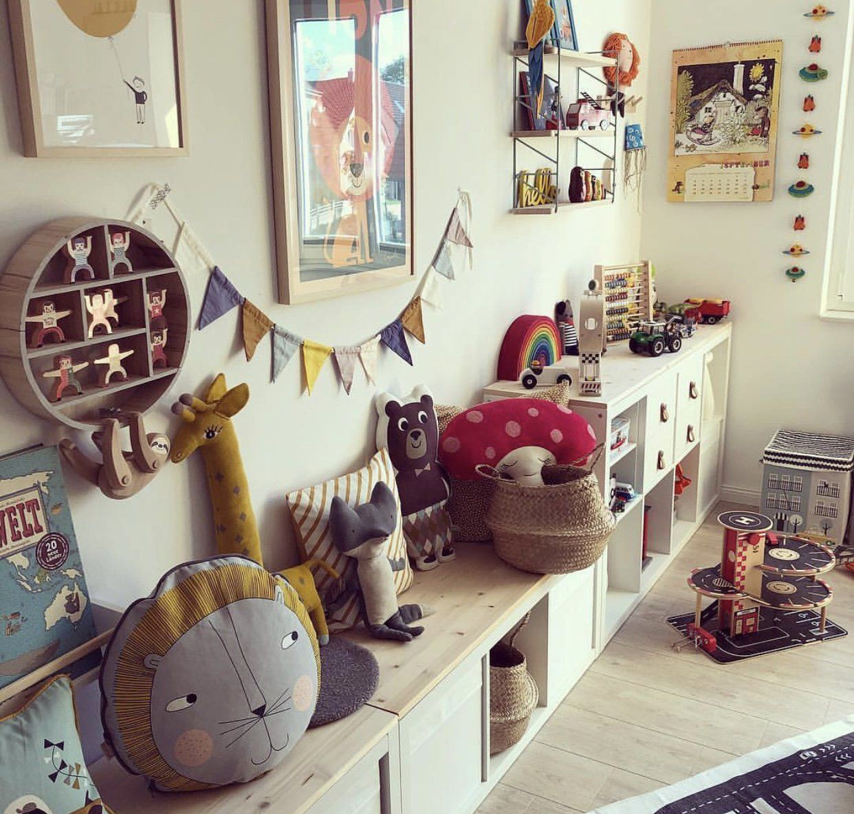 54 Best Stylish Childrens Playroom Inspiration Images In