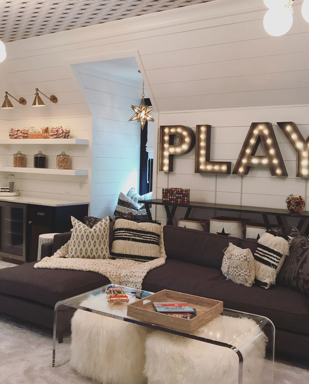 Swipe To See All Of This Playroom! My Favorite Part Is The Loft Area