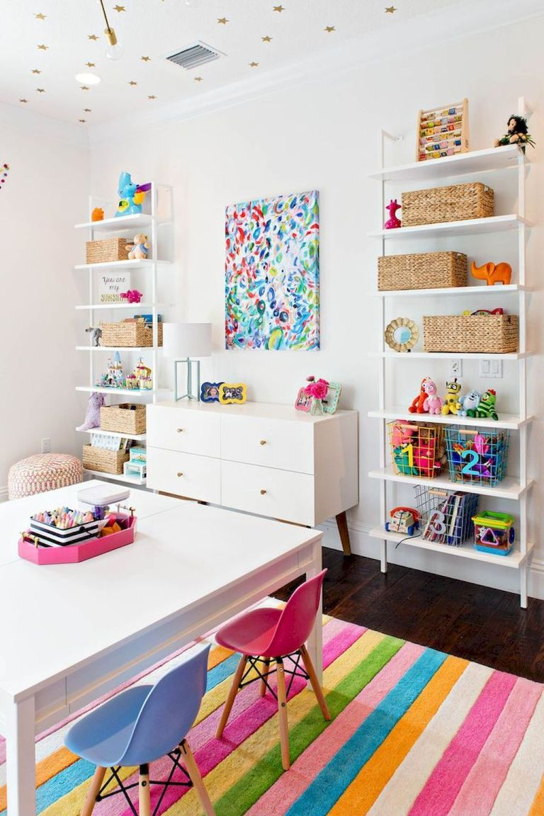 Cute Kids Playroom Decorating Ideas (54) | Family Is Forever