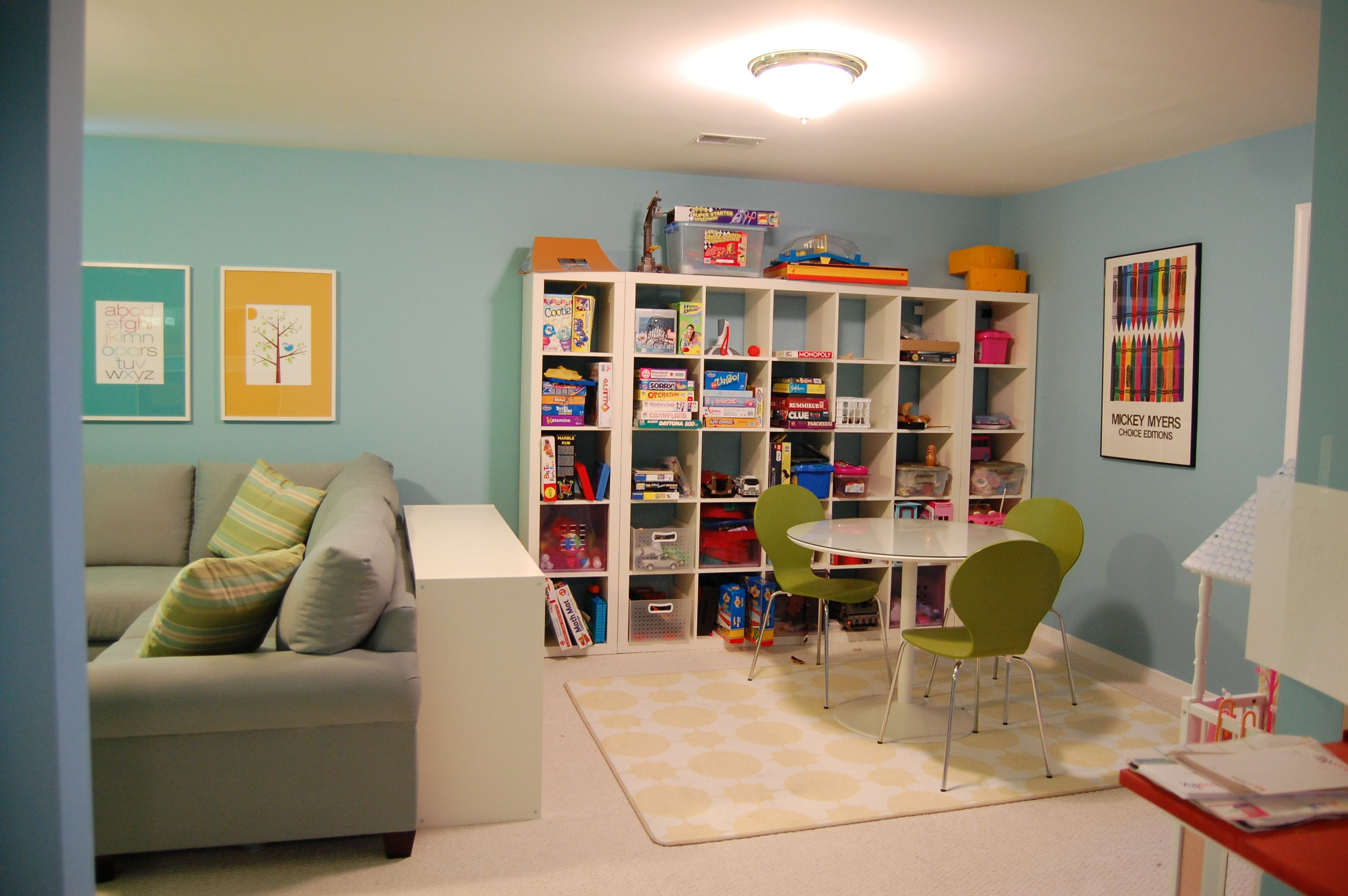Fun And Functional Family Playroom | House Ideas | Family
