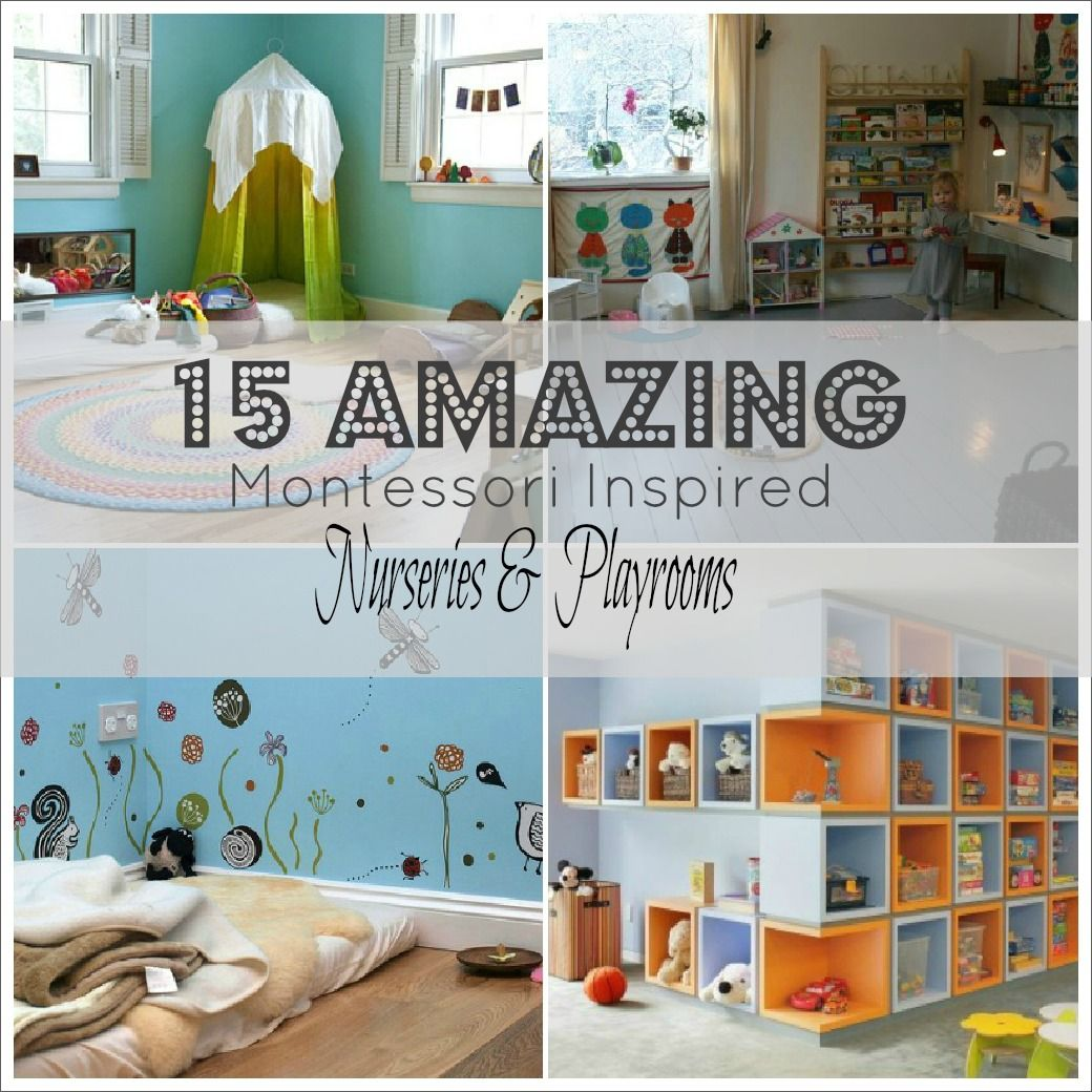 15 Outstanding Montessori Playrooms & Nurseries | Making A