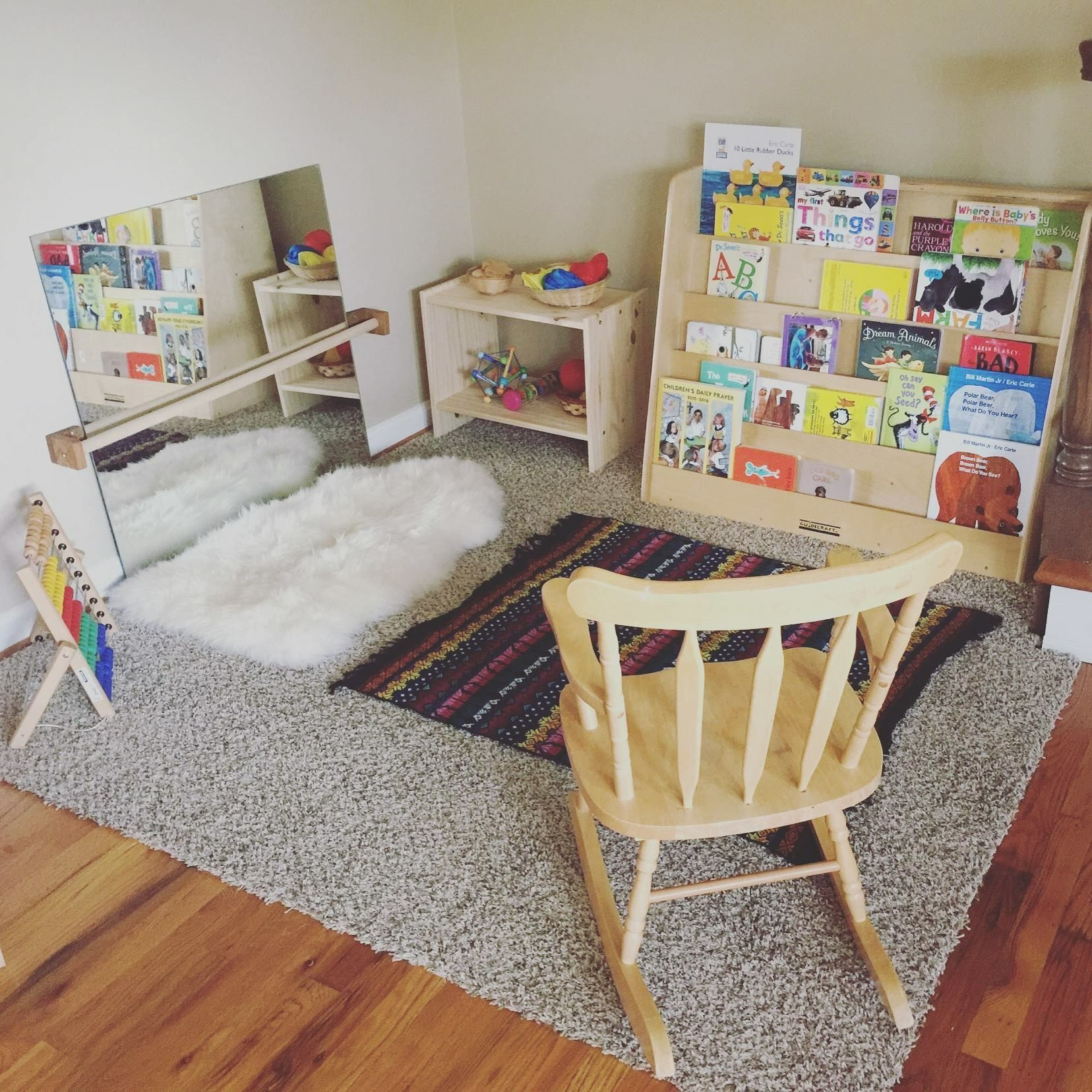 One Year Old Playroom   Play Room In 2019   Montessori