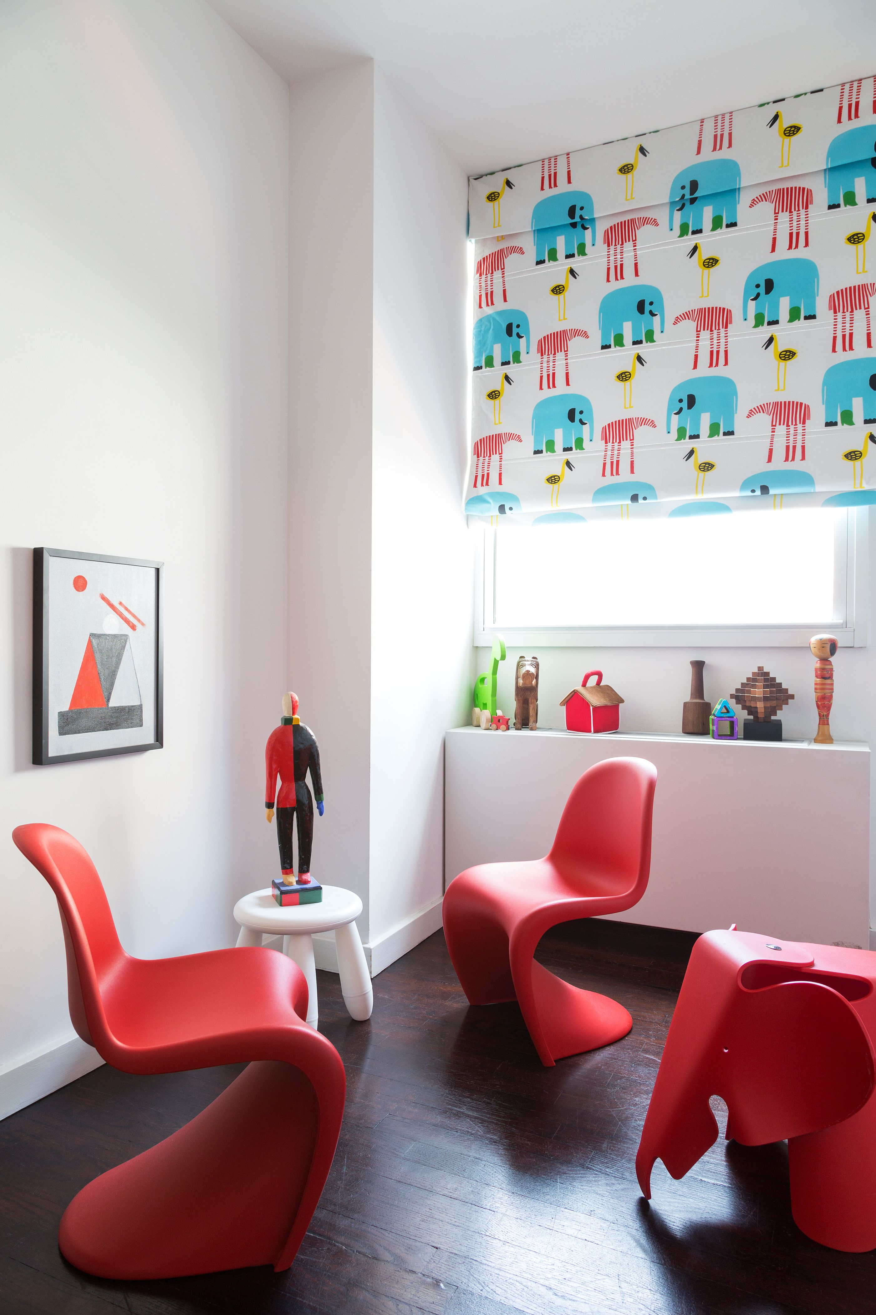 Best Photos From Furnish By Color: Red | Red Chairs! | Playroom