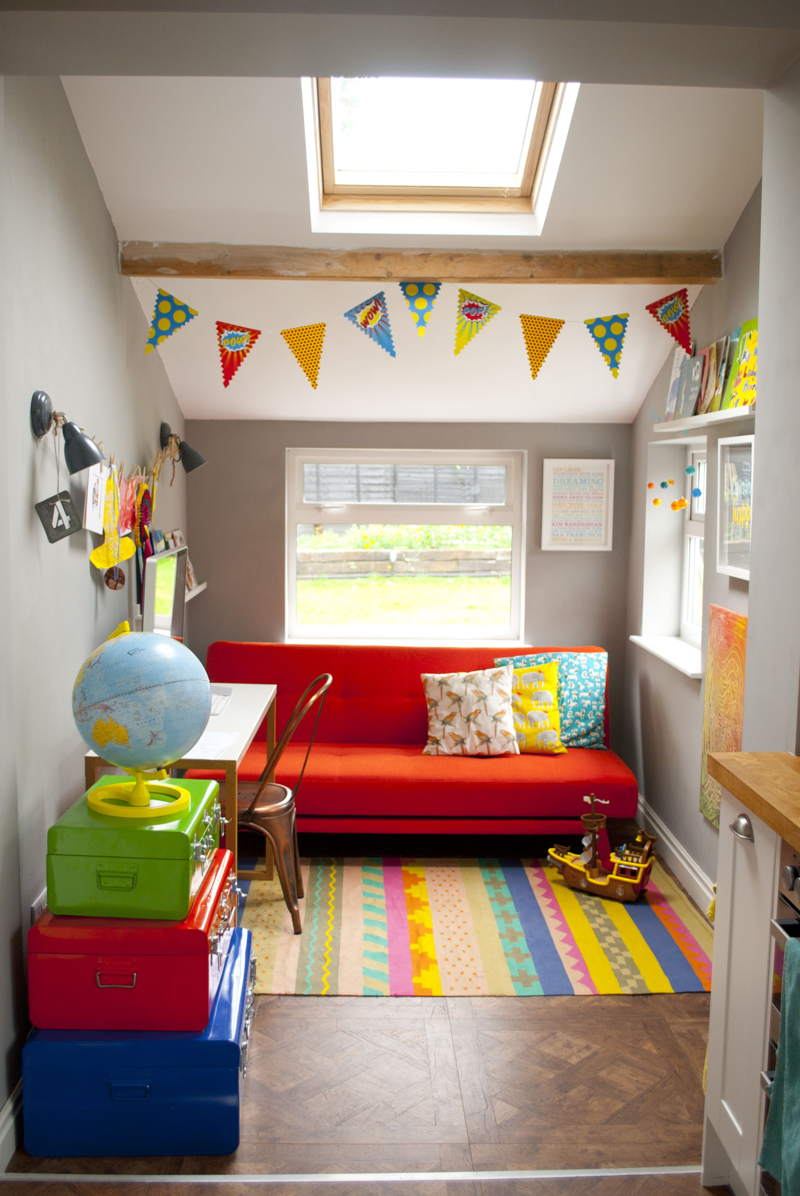 Love Family Space Playroom Grey Walls Duh Get A Futon For