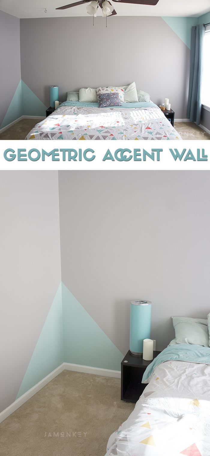 Geometric Accent Wall | Kid's Rooms/playroom | Parede Geomã©trica