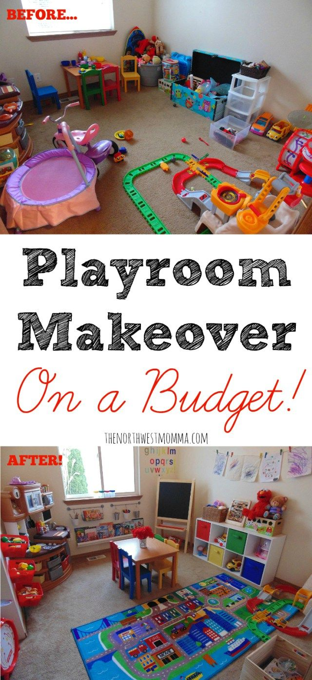 Playroom Makeover On A Budget   Decoration Ideas   Toddler Playroom