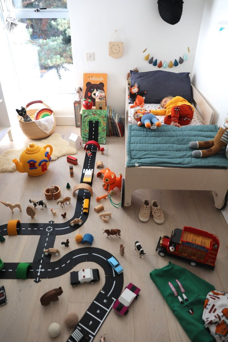 Way To Play Car Track | Uberkid | Playroom Ideas For