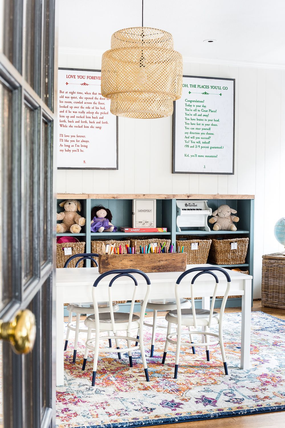 New Light And Furniture In The Playroom | Home Decor