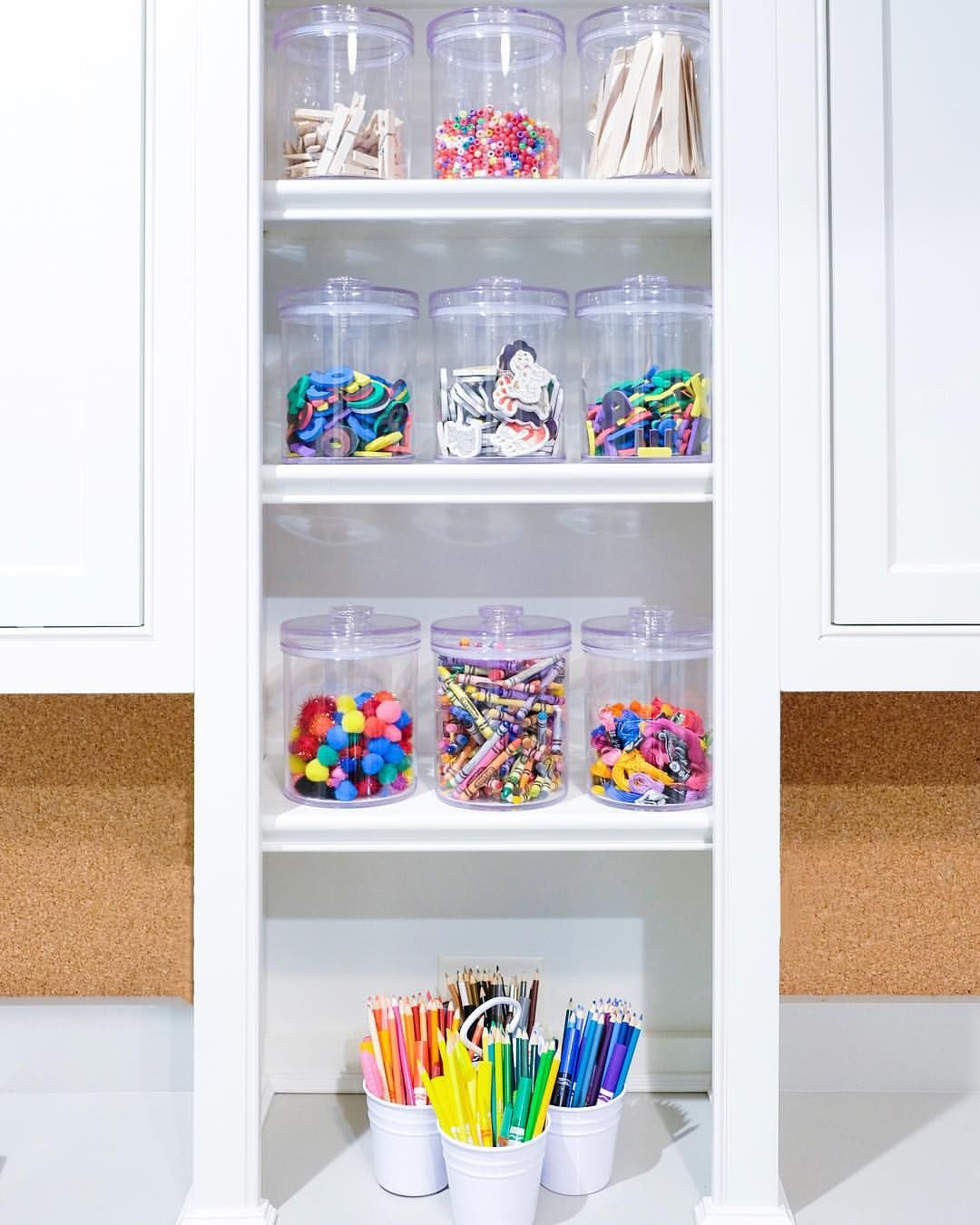 Crafts | Organized And Minimal // | The Home Edit, Playroom
