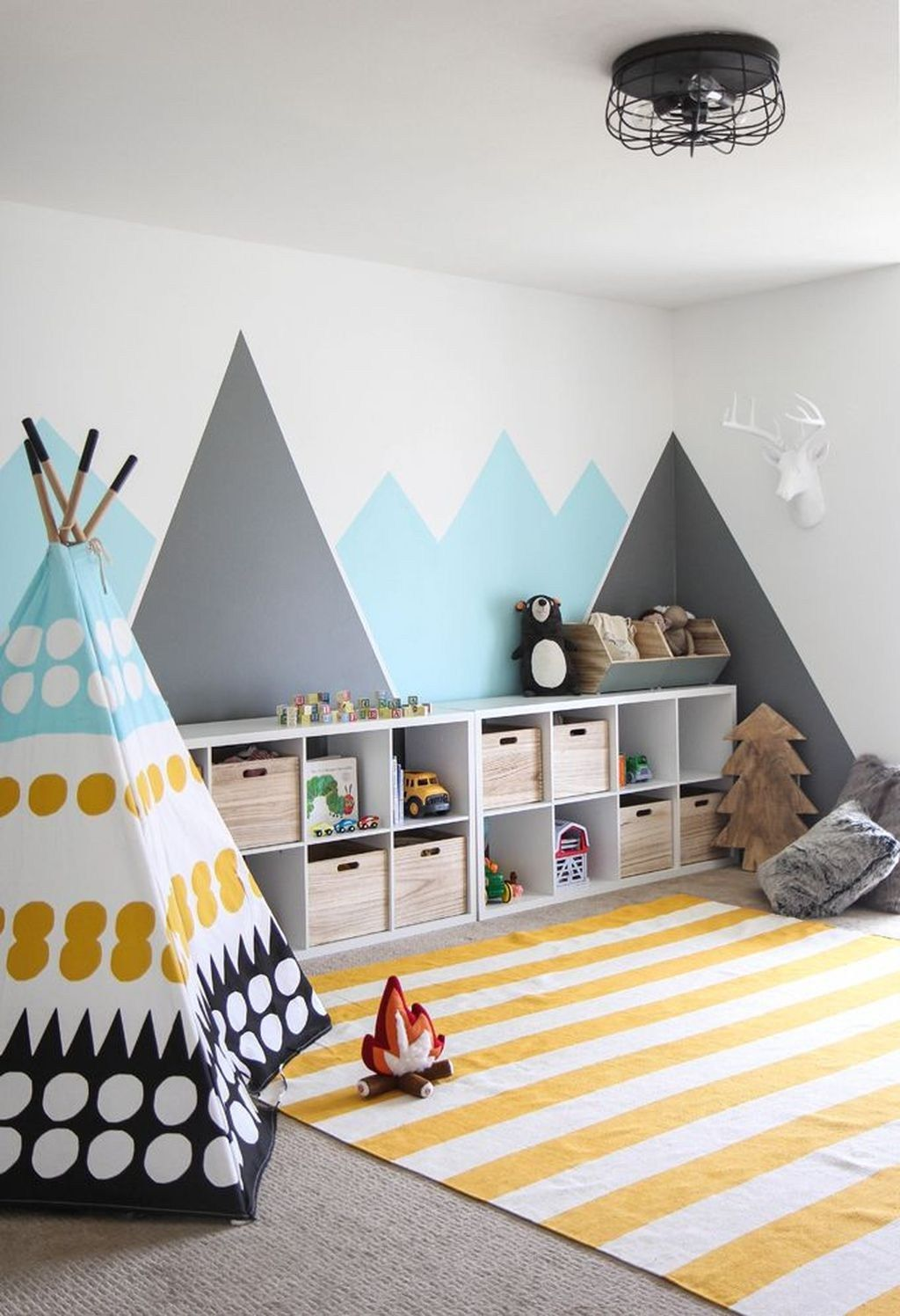 48 Awesome Playroom Design Ideas For Kids | New House Ideas | Kids