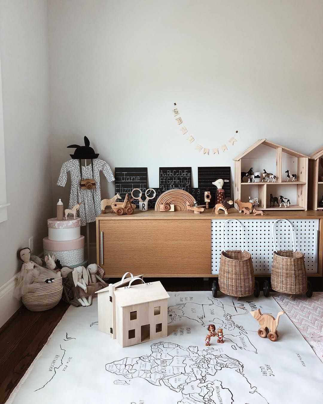 Adorable Kids Playroom Featuring Olli Ella Holdie House And