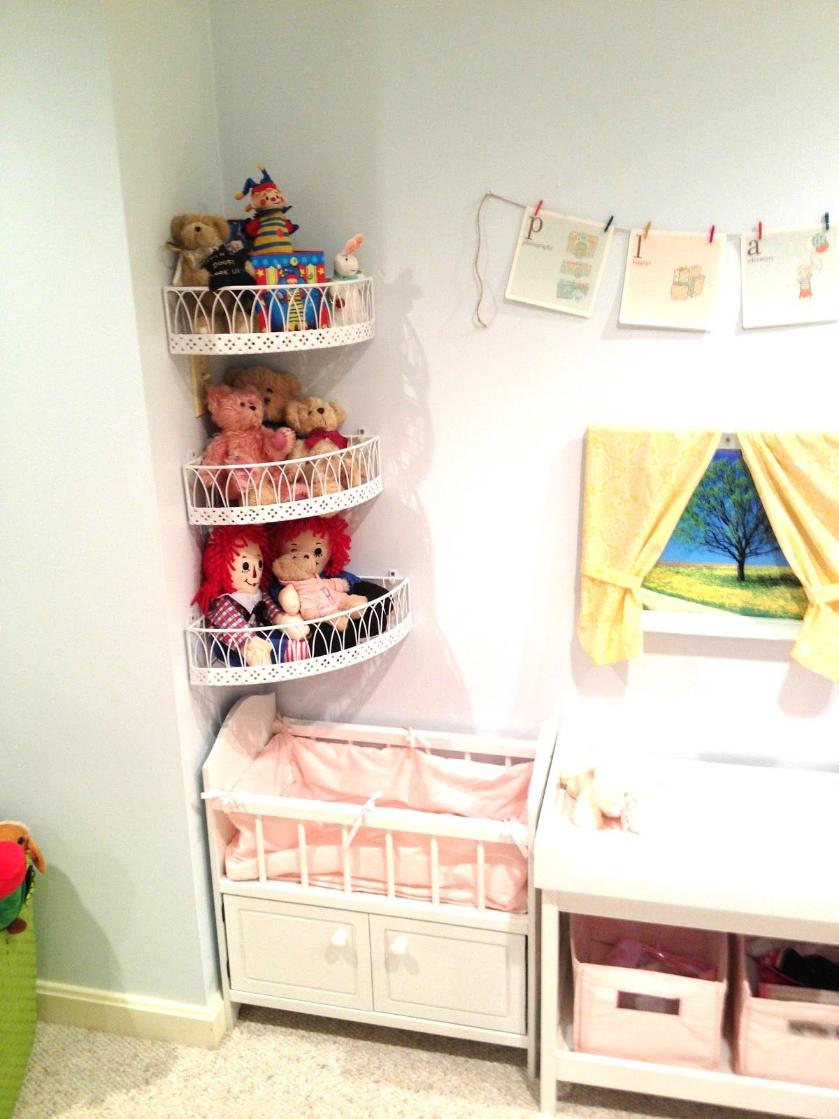 Adventures In Tullyland: Project Playroom: Storage | Crafts