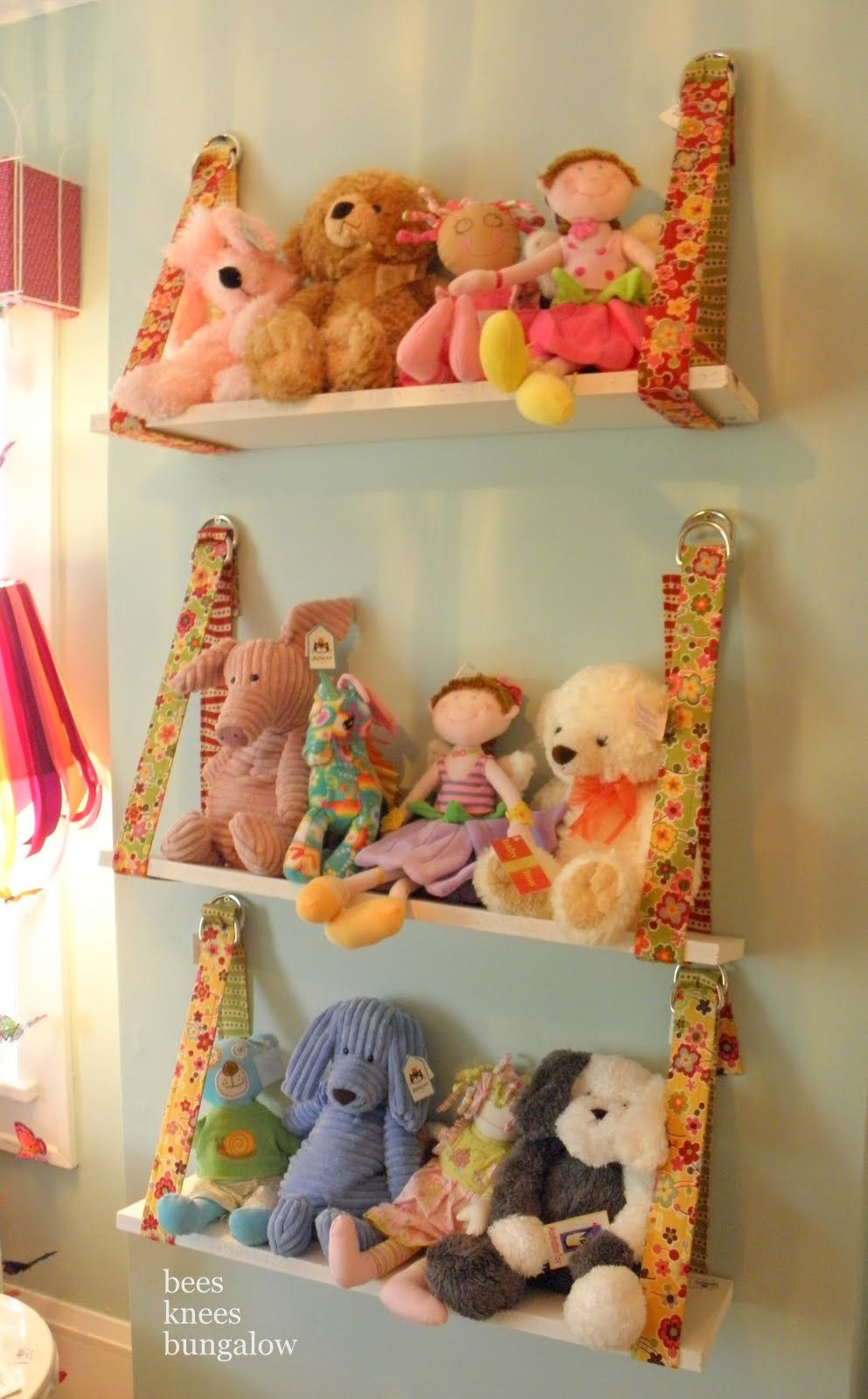 Hanging Playroom Shelves - Could Also Be Used For Regular