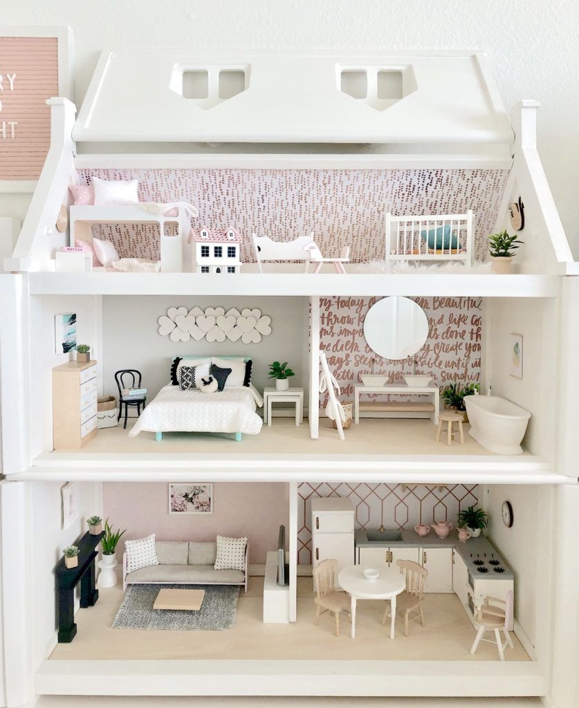 Elena's Officially Forever Dollhouse | Awesome Playroom