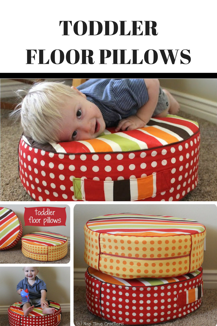 Make This Fun Toddler Pillow For The Playroom | Mom: For The