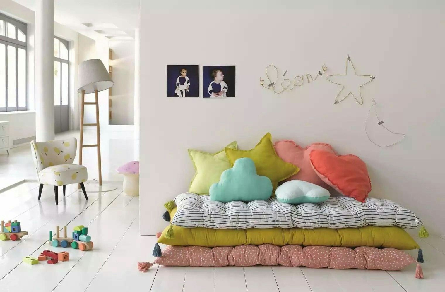 Lounge Chair Cushions In Playroom In 2019   Kids Room