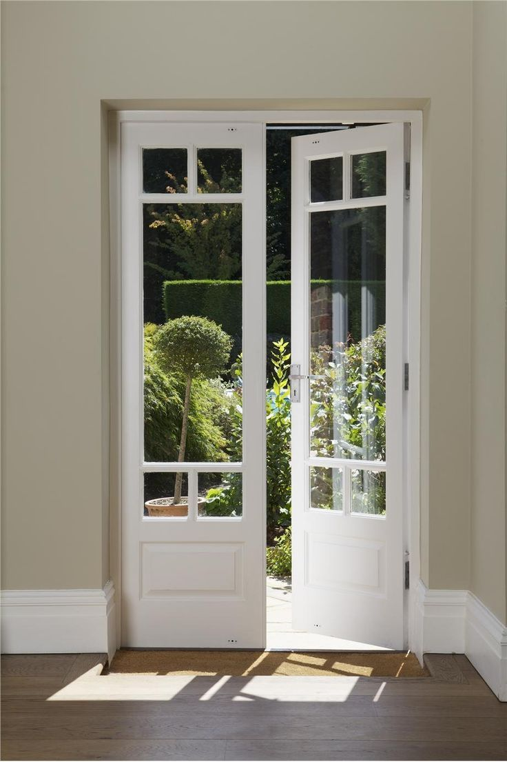 Glass French Doors To Use Indoors Or Playroom Existing Doors