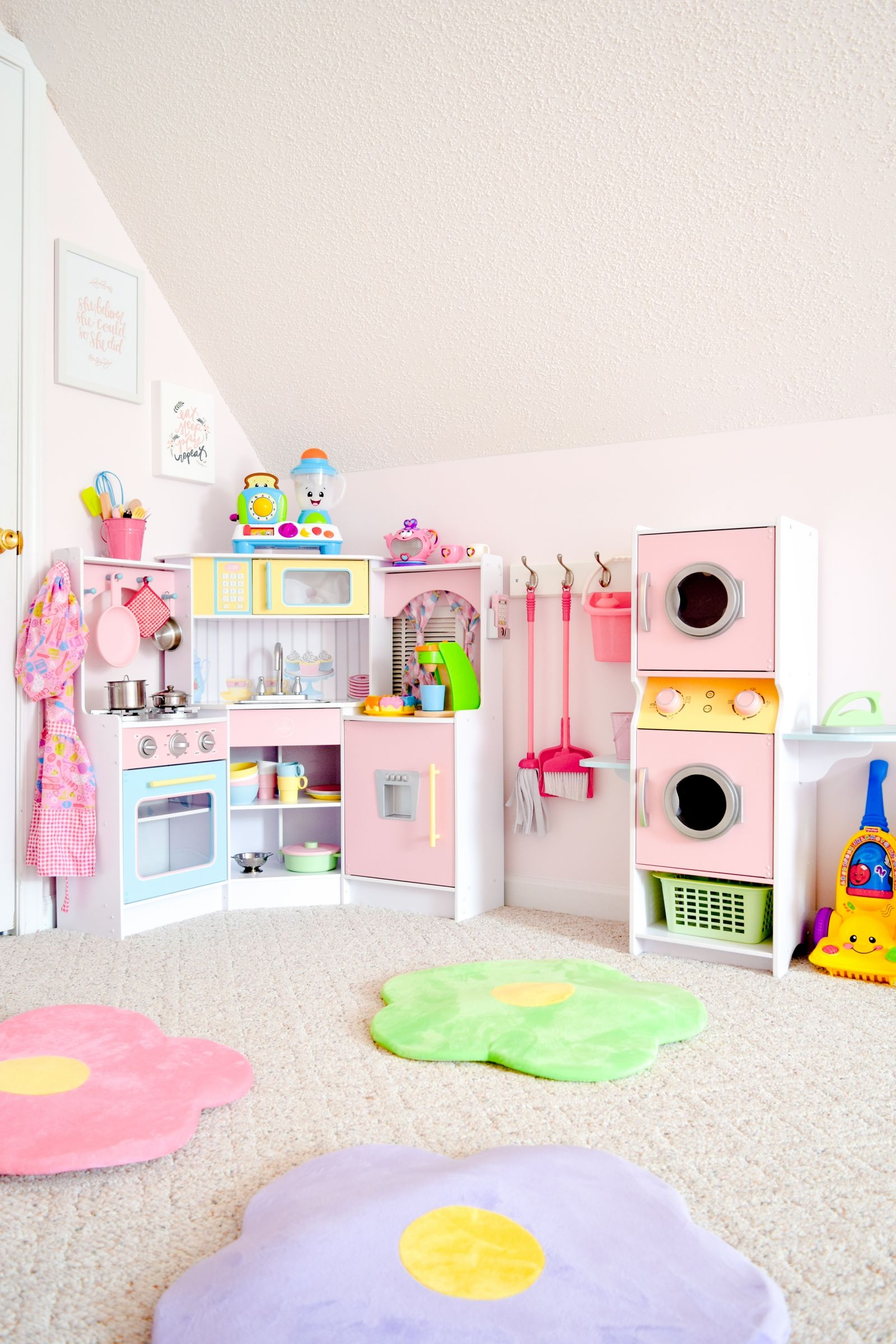 Girls' Dream Playroom Makeover: Part 2   Toy Rooms, Toddler