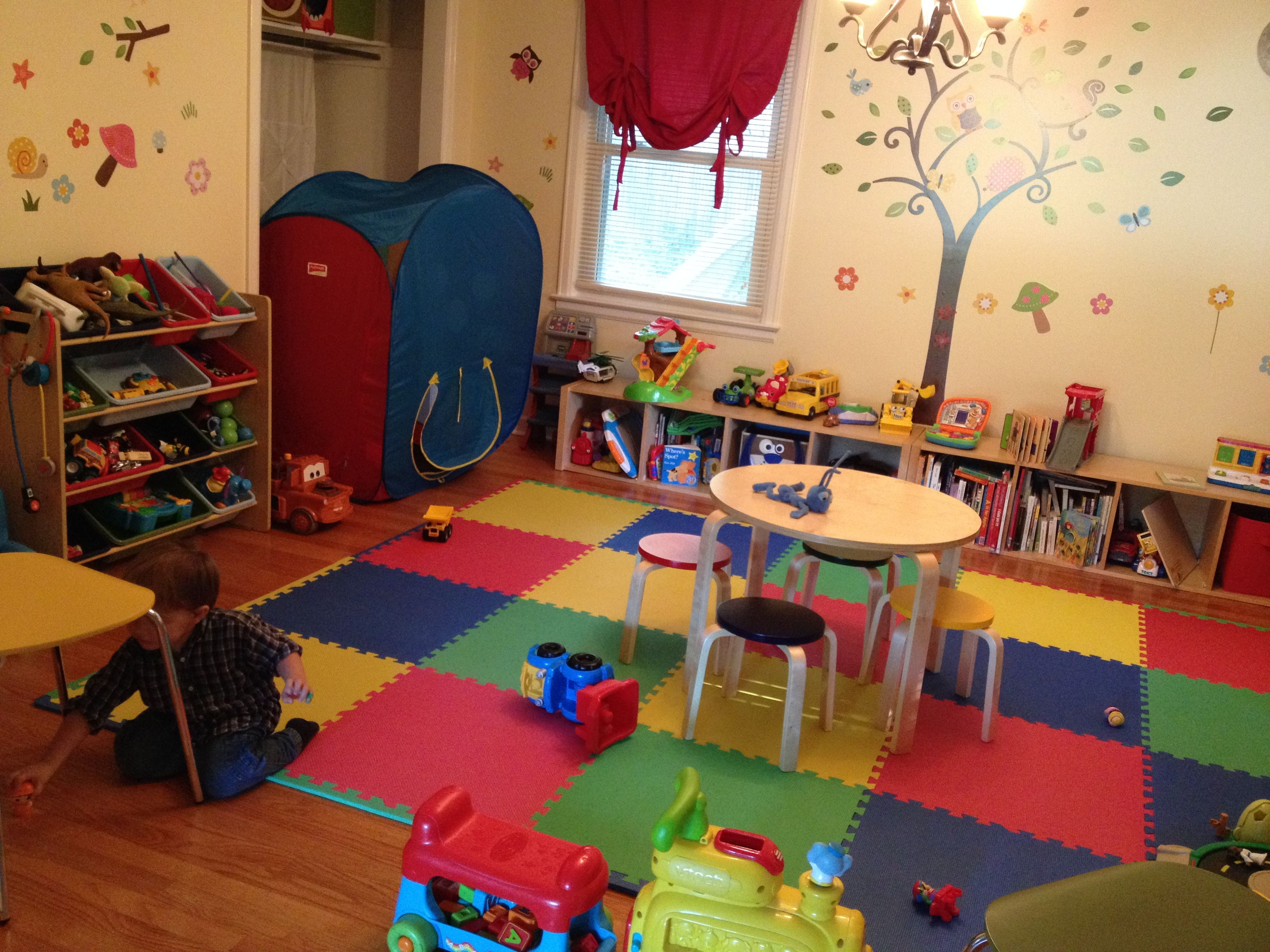 Affordable Playroom Foam Floor Tiles From Home Depot Book