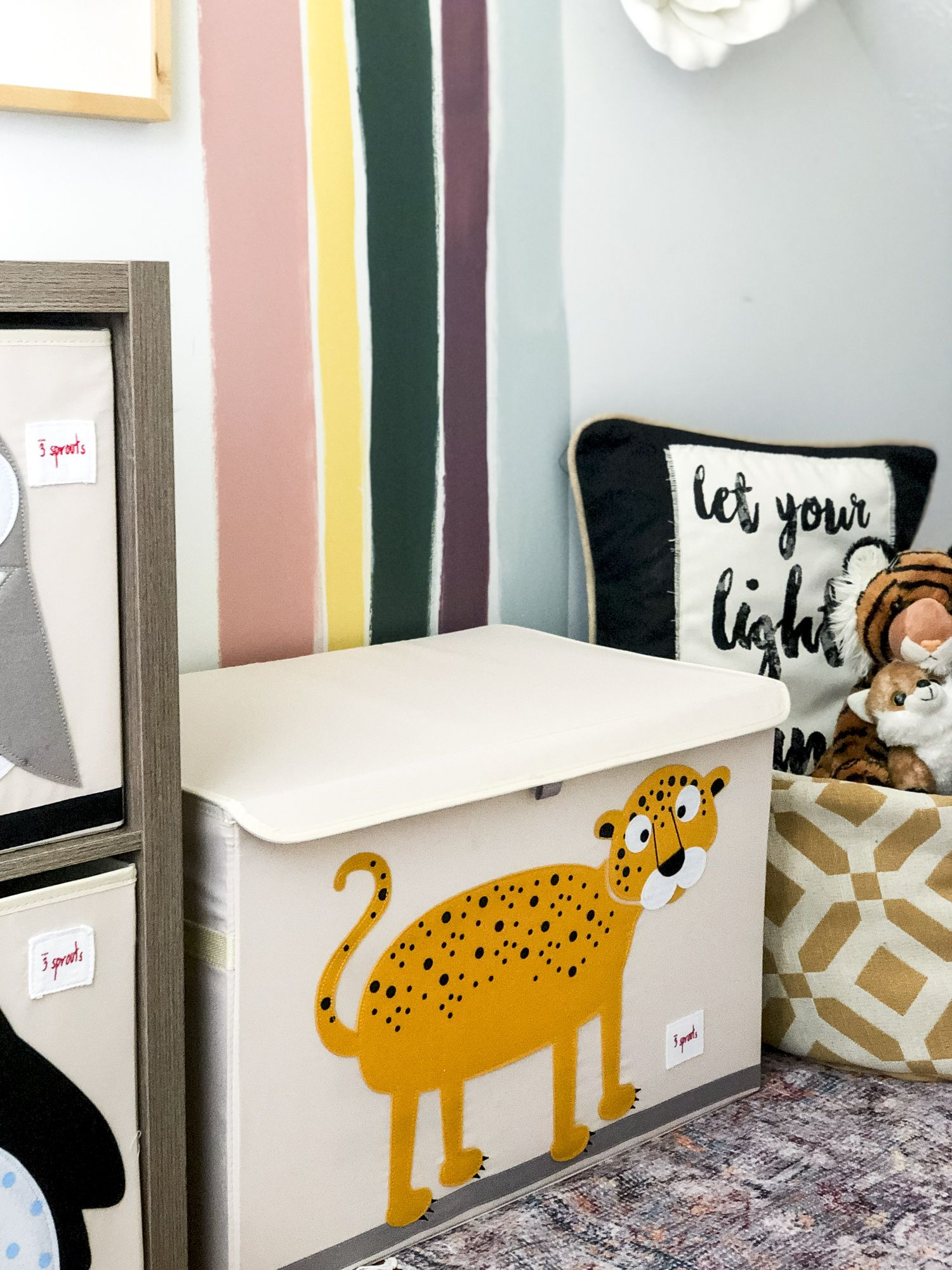 Playroom Ideas For Small Spaces | Playroom Storage, Small
