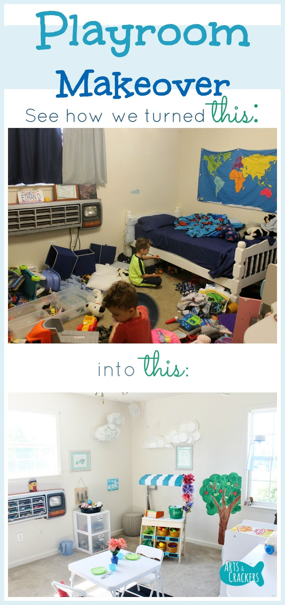 You'll Love This Playroom Makeover   Playroom, Kids House
