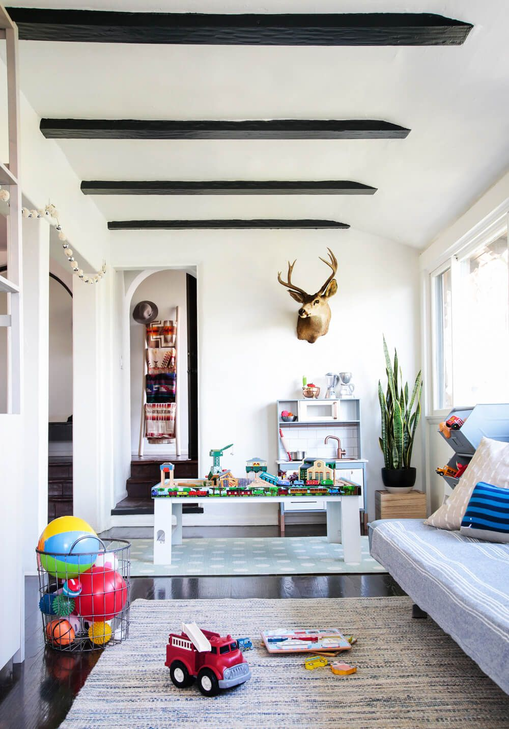 A Sophisticated Playroom + Get The Look | Baby And Kid