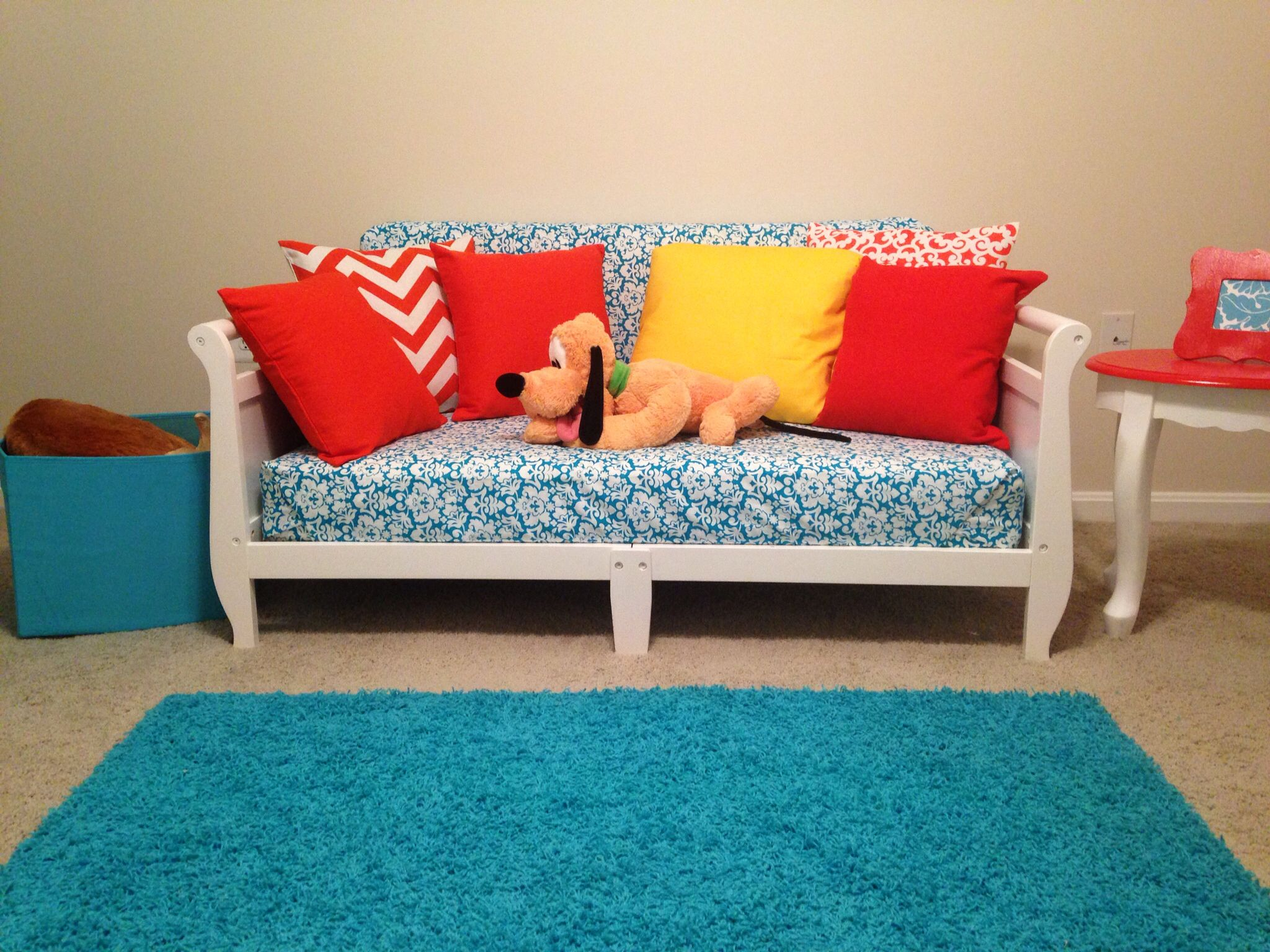 Upcycling - Playroom Sofa From Toddler Beds In 2019