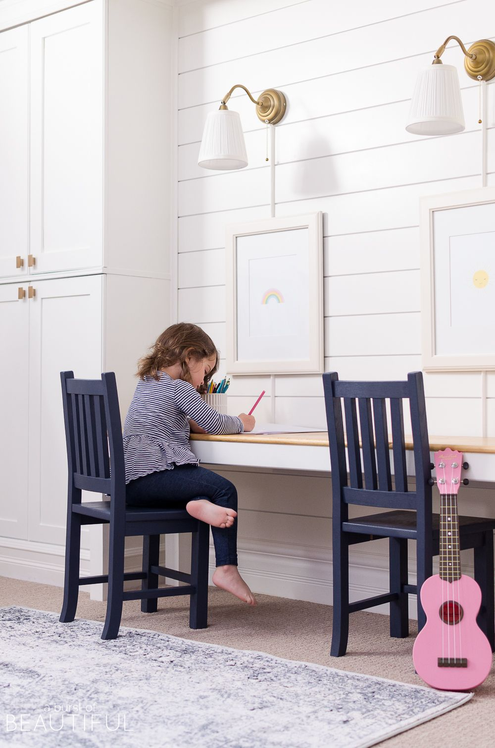 Modern And Sophisticated Family Room And Playroom - Nick +