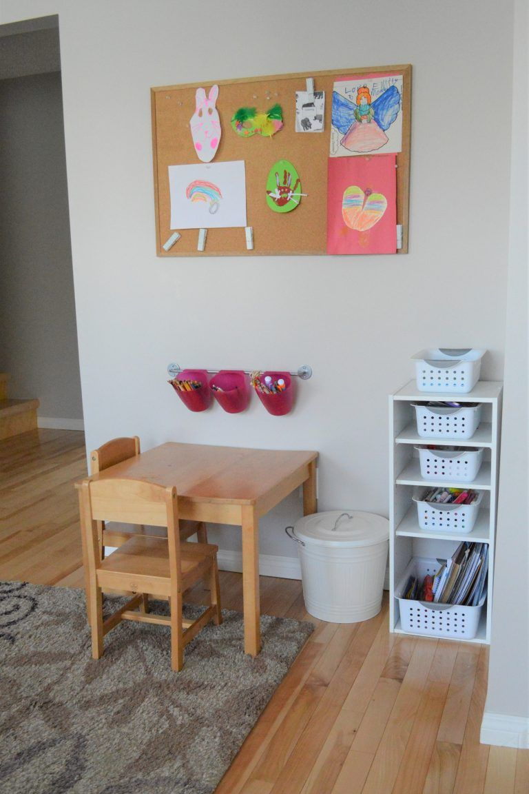 Minimalist Playroom Tour: Creating A Simple, Playful Space | Fiona
