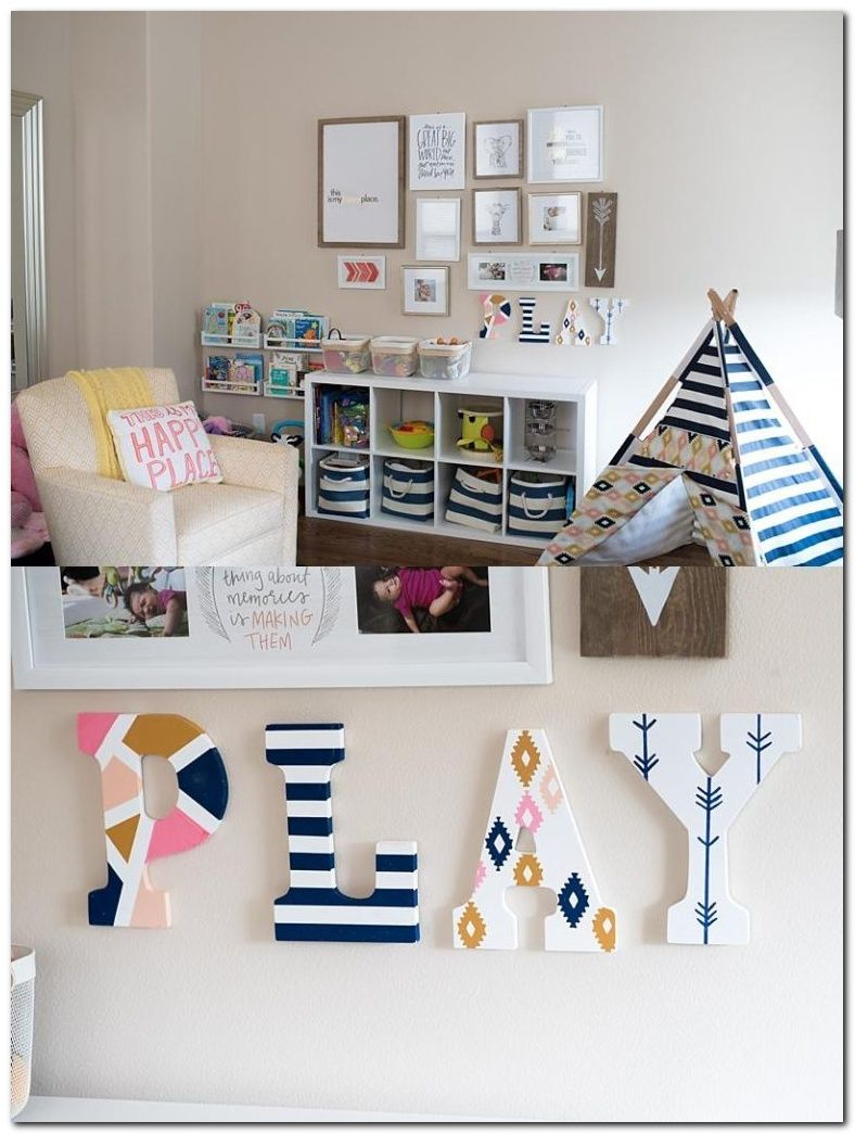 Simple But Fun Playroom Interiors Ideas Your Kids Will Love