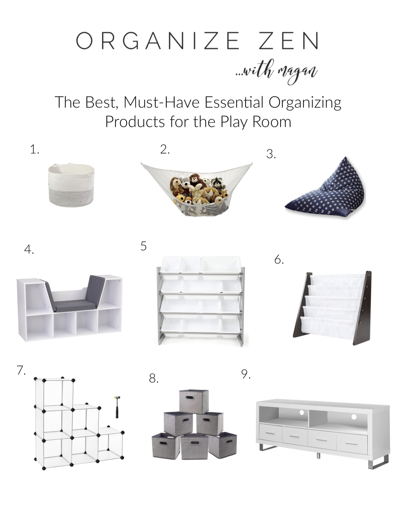 Practical And Realistic Solutions For Playroom Organization