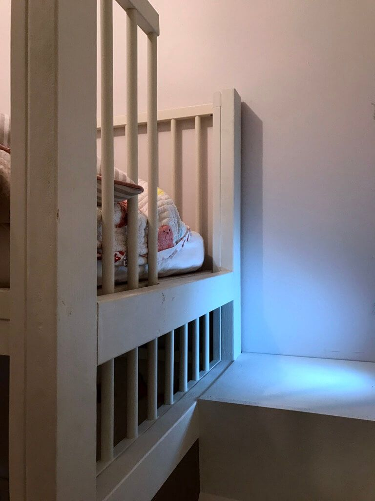 Crib Bunk Bed Hacked From Ikea Gulliver Cots   Playroom