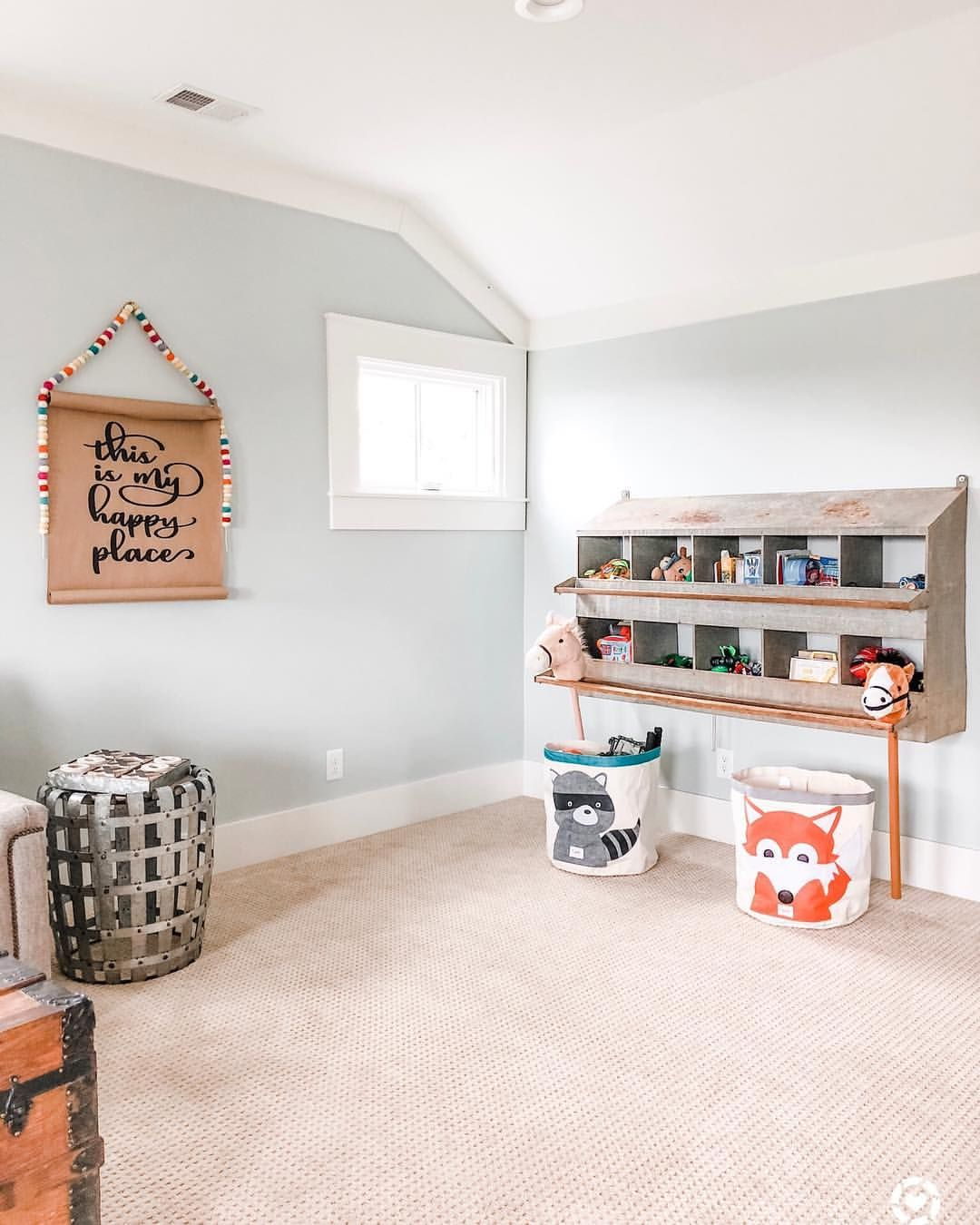 Sharing Our Toy Storage Solution In Our Playroom Vintage