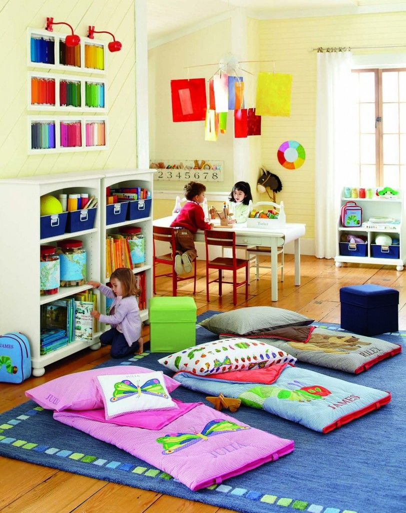 Pottery Barn Kids The Very Hungry Caterpillar Playroom