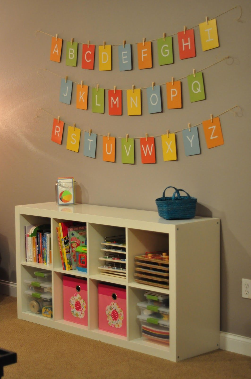 Project Playroom: Some Finished Photos | School | Playroom, Playroom
