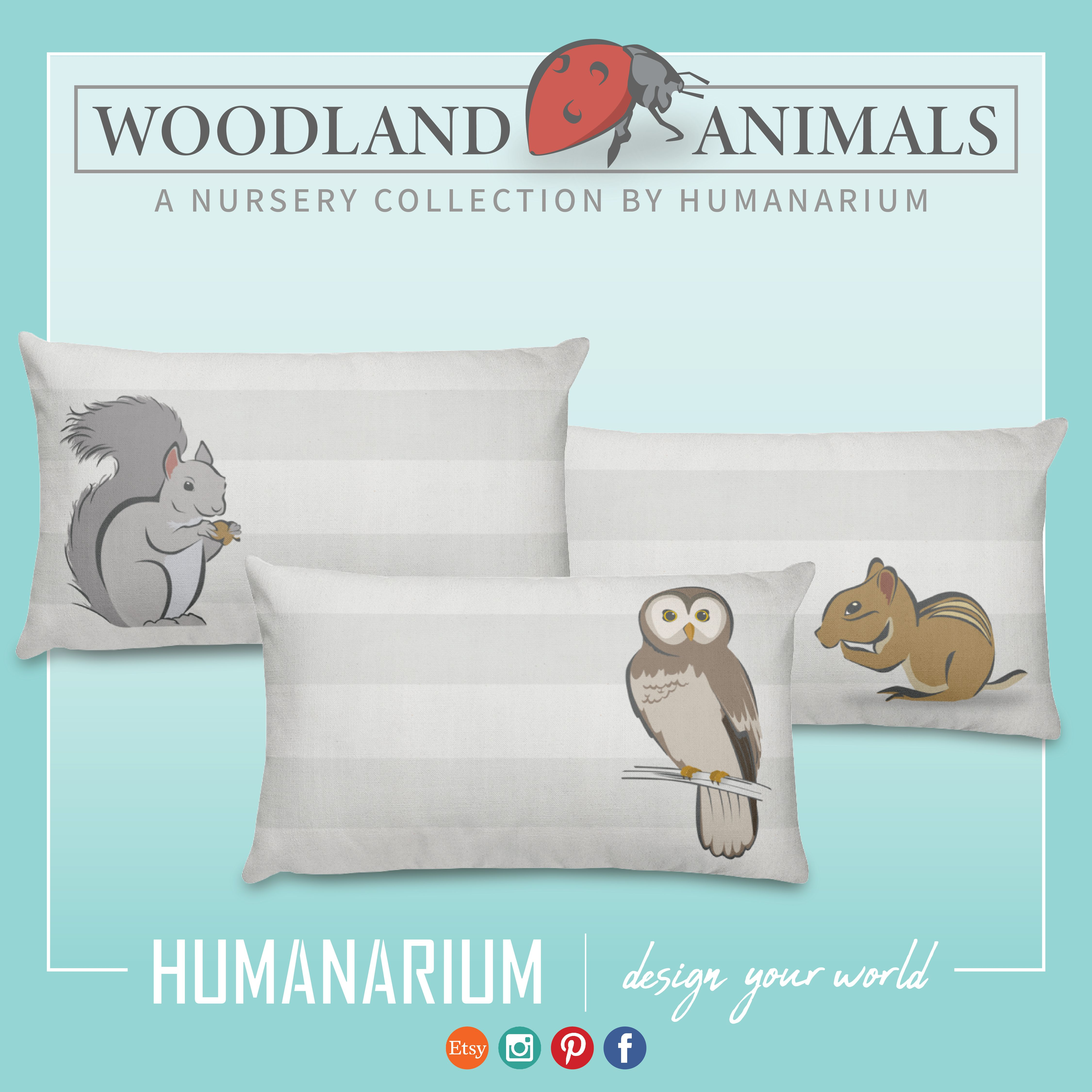 Tie Your Playroom Or Nursery Together With Matching Pillow