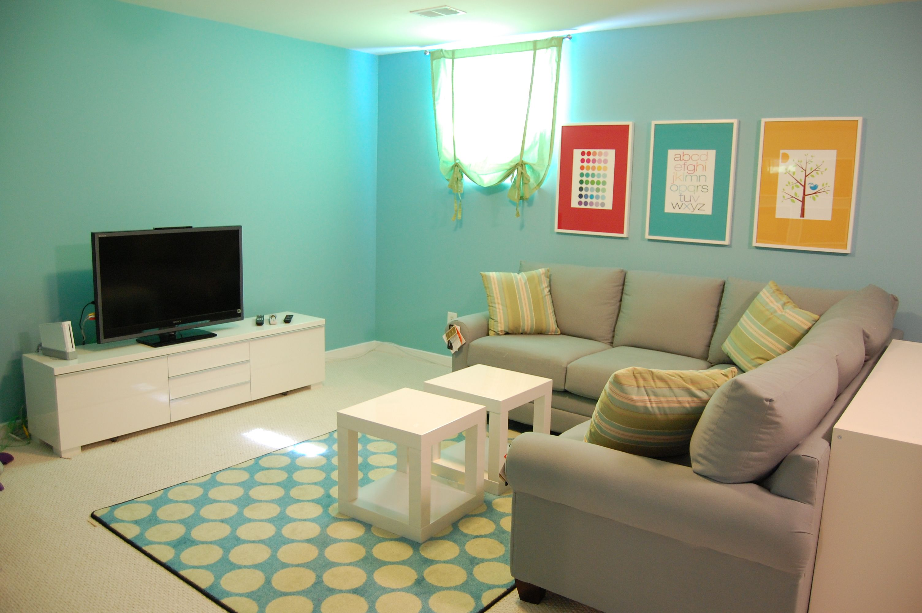 Fun And Functional Family Playroom | Kids | Family Room, Family Room