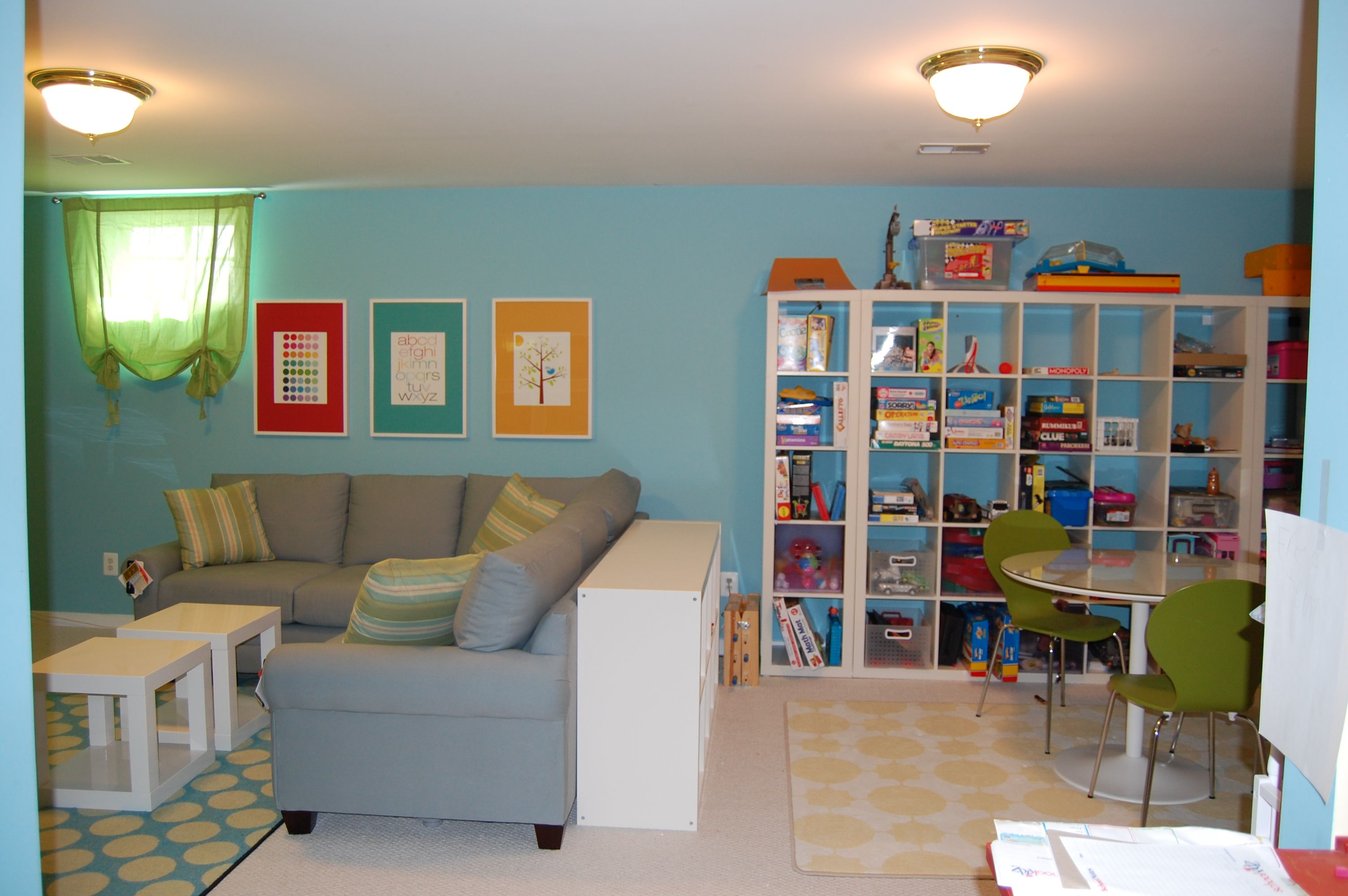 Fun And Functional Family Playroom | Great Room Grandness | Family