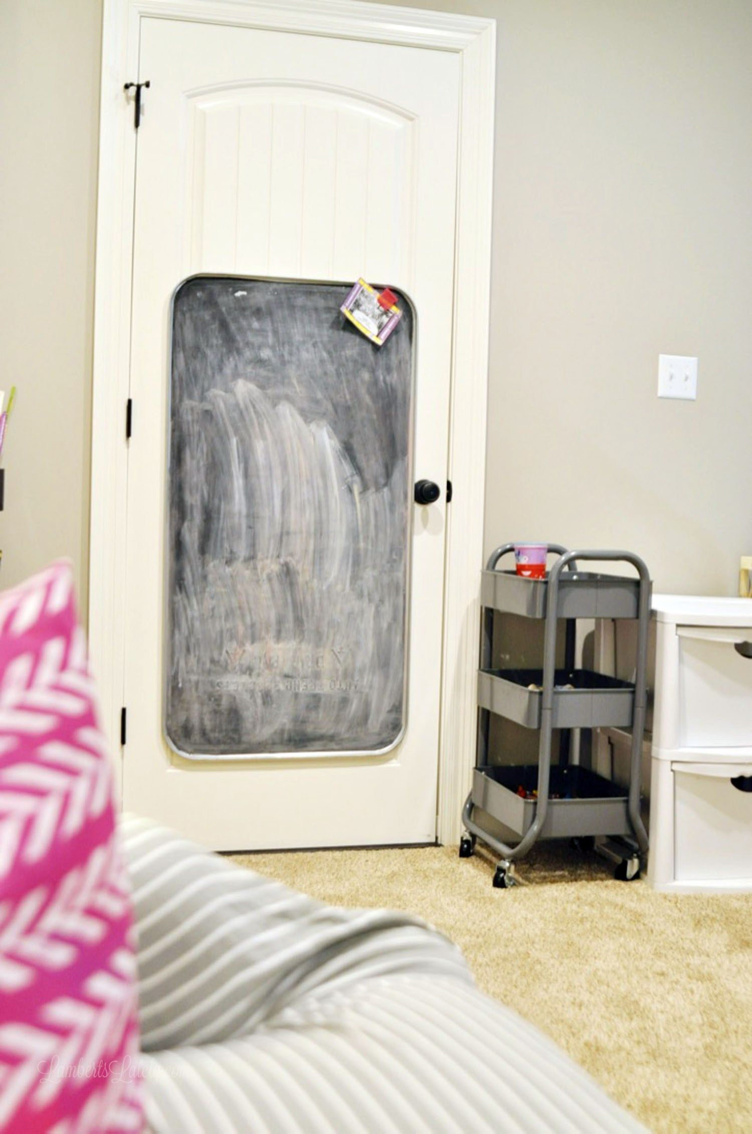 How We Organized Our Small Playroom | Toy Storage | Small