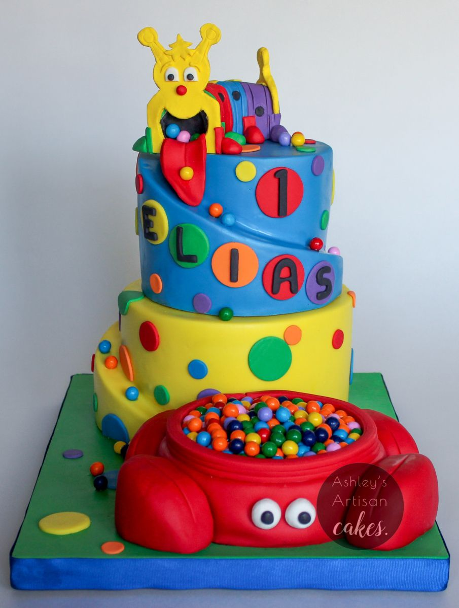 This Cake Was Inspired From Our Playroom At Church The