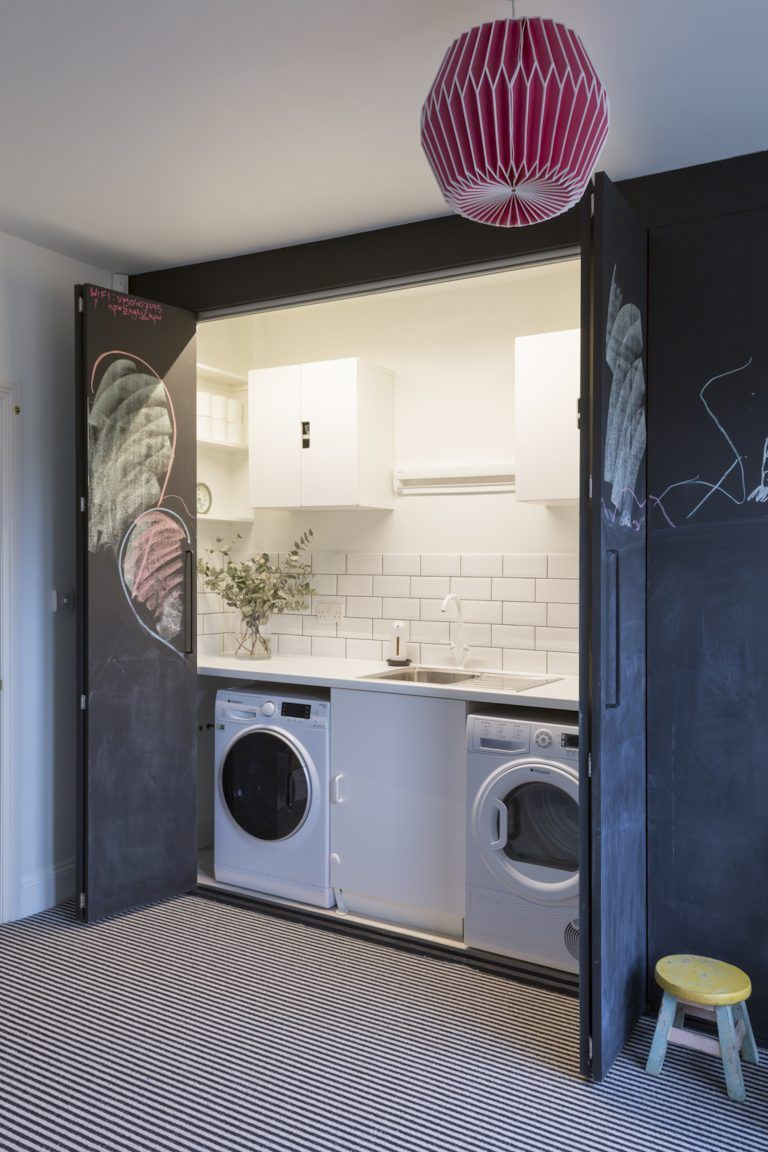 Kempe Sw16 - Basement Utility And Playroom - London Houses