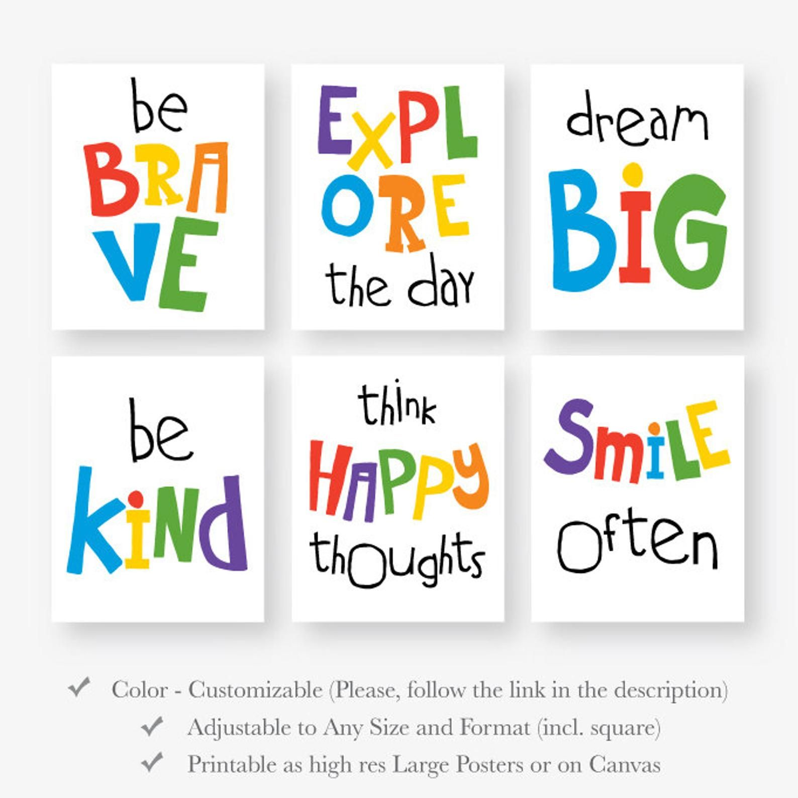 Motivational Quote Playroom Download Kid Room Inspirational